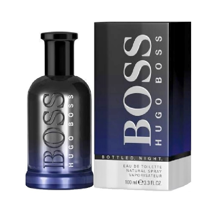 Boss Bottled Night Cologne by Hugo Boss 3.3oz Eau De Toilette spray for Men