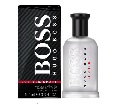 Boss Bottled Sport Cologne by Hugo Boss 1.7oz Eau De Toilette spray for Men