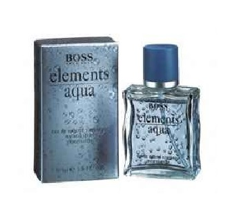 Boss elements aqua Cologne by Hugo Boss 3.4oz Eau De Toilette spray for Men