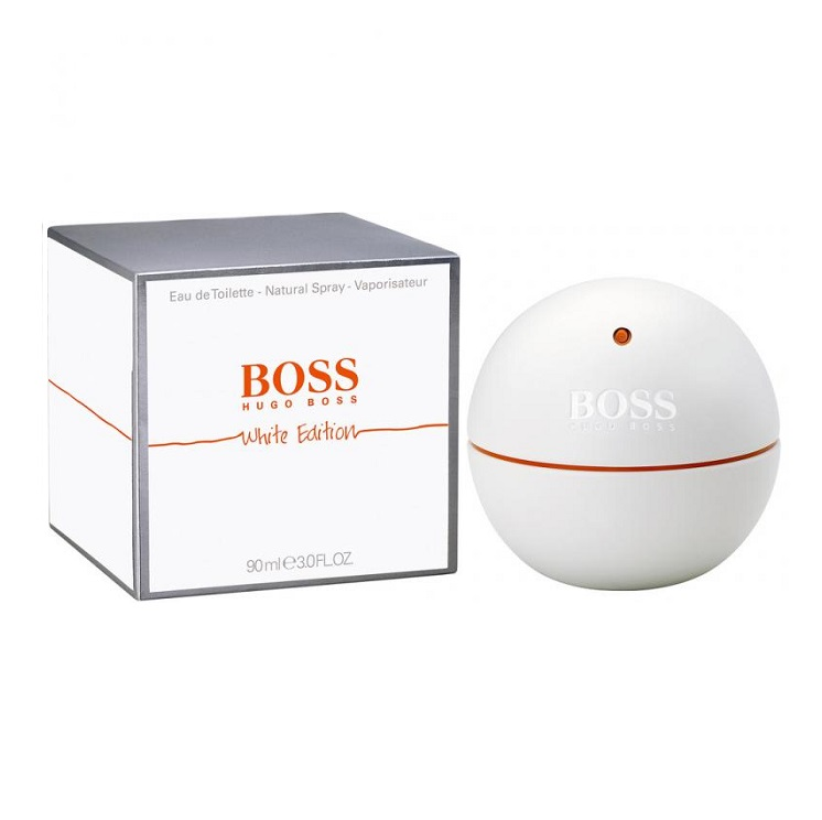 Boss In Motion White Cologne by Hugo Boss 3.0oz Eau De Toilette spray for Men