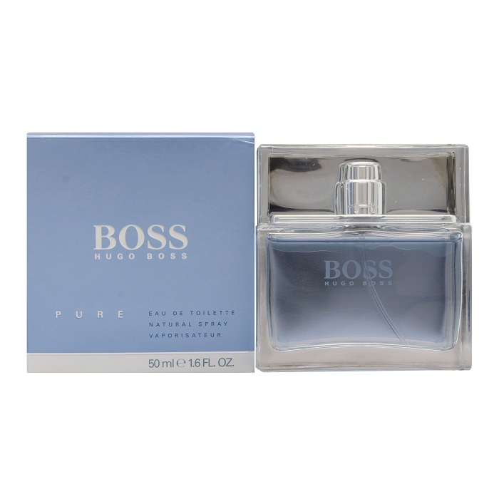 Boss Pure Cologne by Hugo Boss 1.6oz Eau De Toilette spray for Men