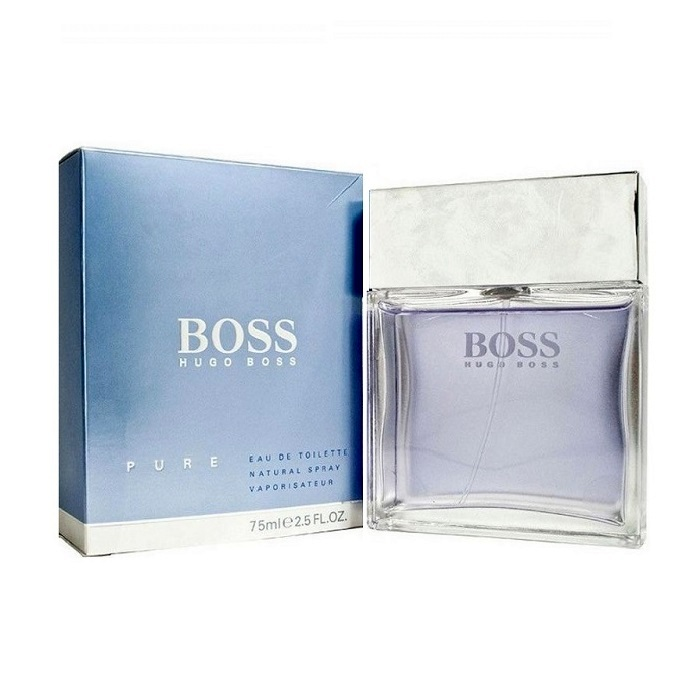 Boss Pure Cologne by Hugo Boss 2.5oz Eau De Toilette spray for men