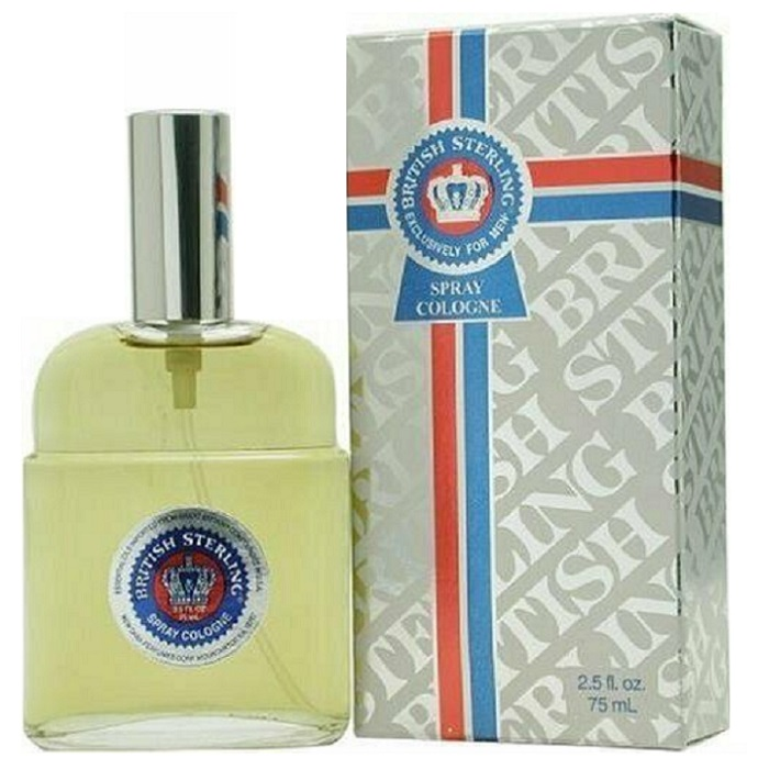 British Sterling Cologne by Dana 2.5oz Cologne Spray for men