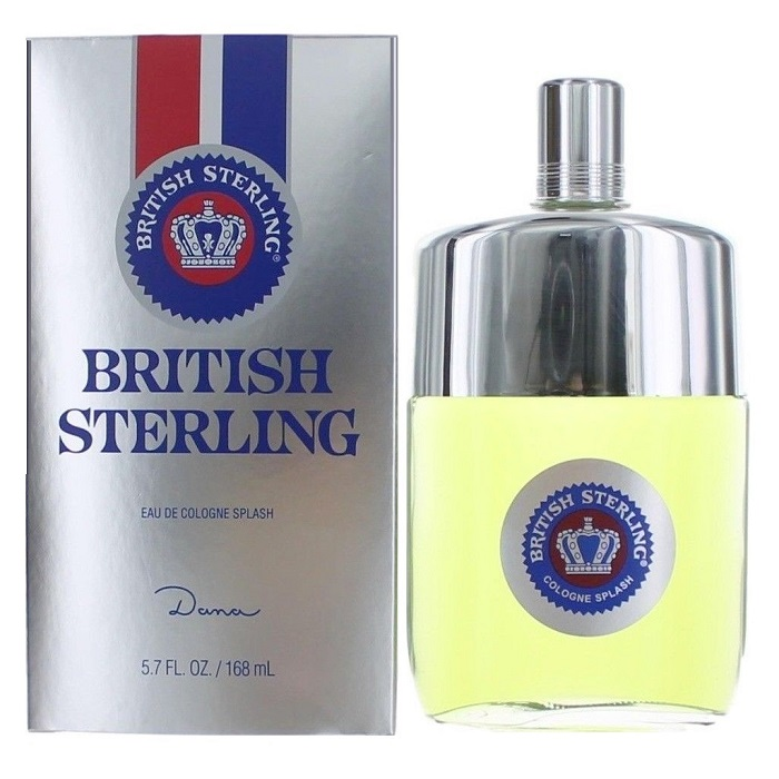 British Sterling Cologne by Dana 5.7oz Eau De Cologne splash for men