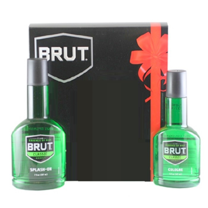 Brut Cologne Gift Set for men - 5.0oz Eau De Cologne spray, and 7oz splash