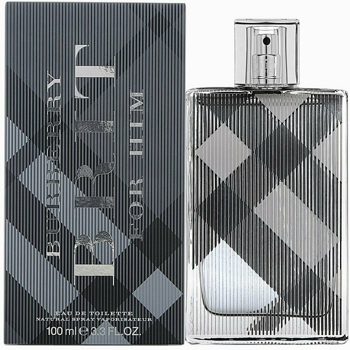 Burberry Brit Cologne by Burberry 3.4oz Eau De Toilette Spray for men