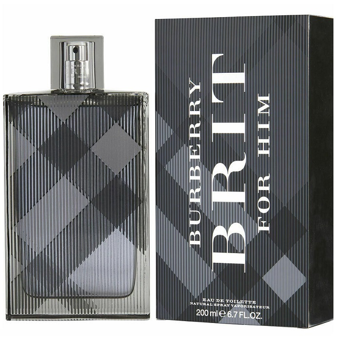 Burberry Brit Cologne by Burberry 6.7oz Eau De Toilette Spray for men