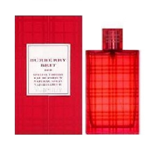 Burberry Brit Red Perfume by Burberry 3.4oz Eau De Parfum spray for Women