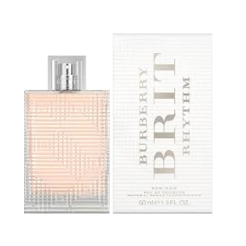 Burberry Brit Rhythm Perfume by Burberry 1.6oz Eau De Toilette spray for Women