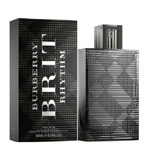 Burberry Brit Rhythm Cologne by Burberry 3.0oz Eau De Toilette spray for Men