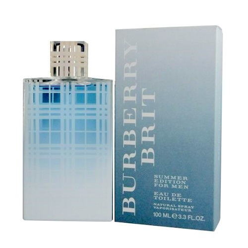 Burberry Brit Summer Cologne by Burberry 3.4oz Eau De Toilette spray for Men
