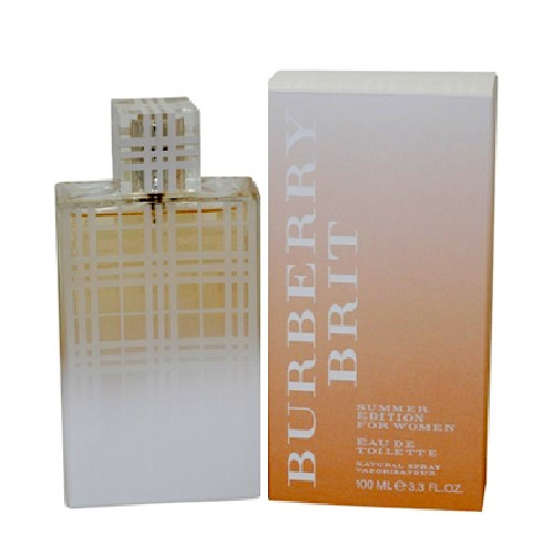 Burberry Brit Summer Perfume by Burberry 3.4oz Eau De Toilette spray for Women
