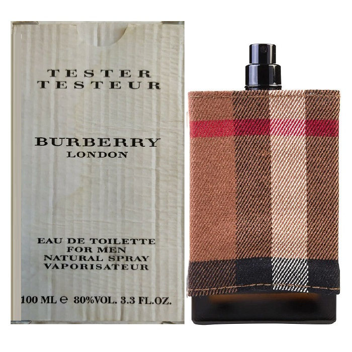 Burberry London Tester Cologne by Burberry 3.3oz Eau De Toilette Spray for men