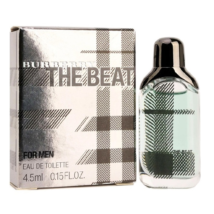 Burberry The Beat Mini Cologne by Burberry 4.5ml Eau De Toilette for men