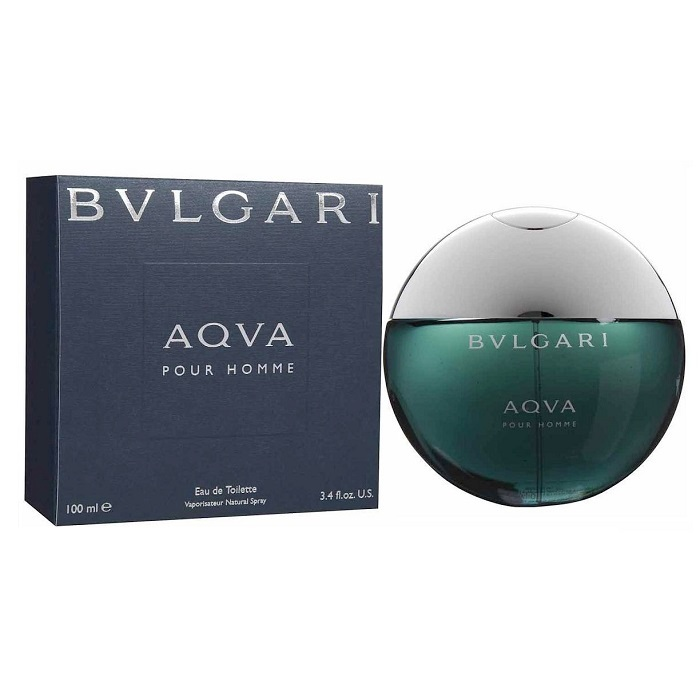 Bvlgari Aqua Pour Homme Cologne by Bvlgari 3.4oz Eau De Toilette spray for men