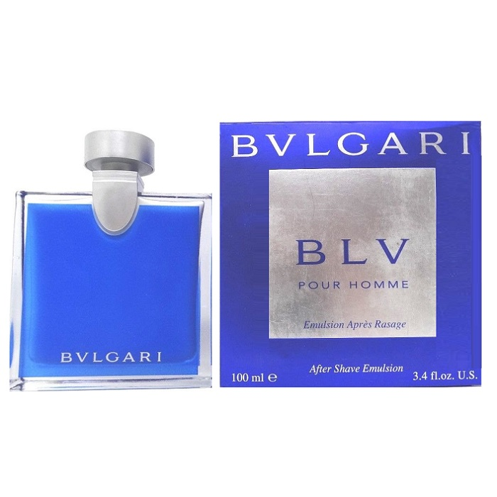 Bvlgari BLV After Shave Emulsion (Balm) by Bvlgari 3.4oz for men