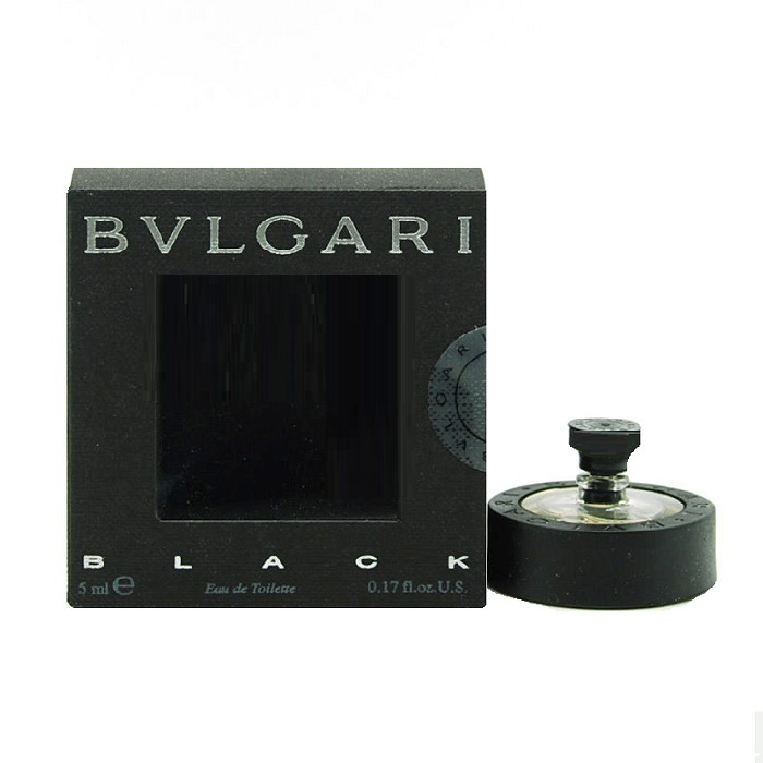 Bvlgari Black Mini by Bvlgari 0.17oz / 5ml Eau De Toilette (unisex)