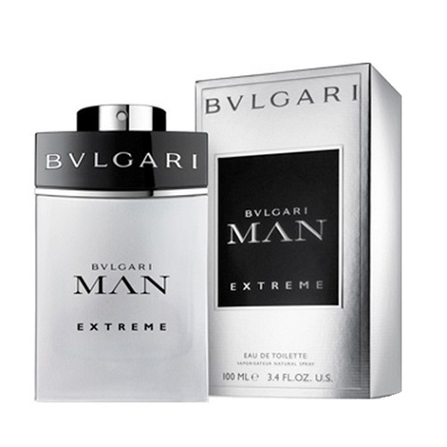 Bvlgari Man Extreme Cologne by Bvlgari 3.4oz Eau De Toilette spray for Men
