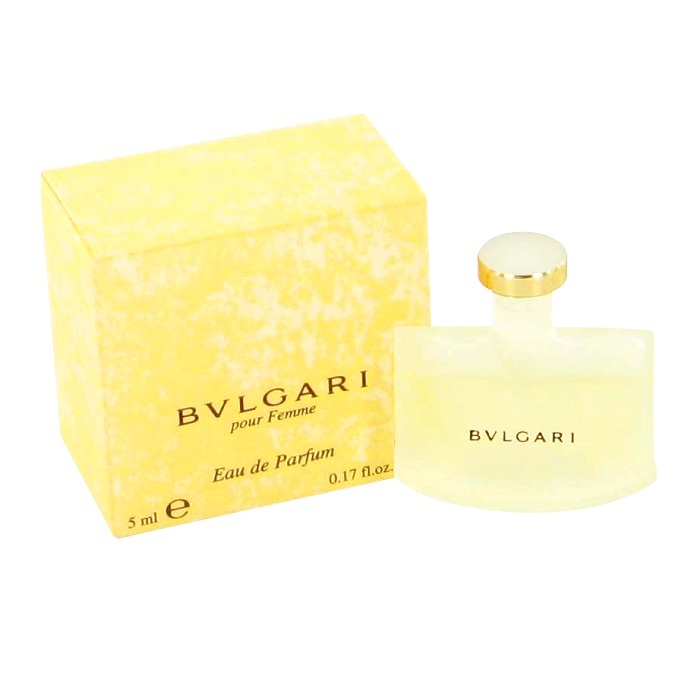 Bvlgari Mini Perfume by Bvlgari 0.17oz / 5ml Eau De Perfume for Women