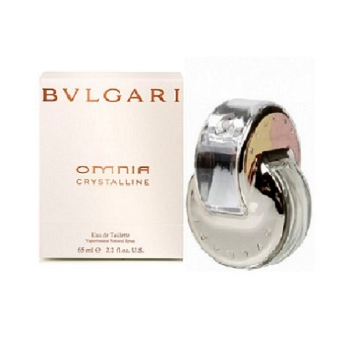 Bvlgari Omnia Crystalline Perfume by Bvlgari 0.84oz Eau De Toilette spray for Women