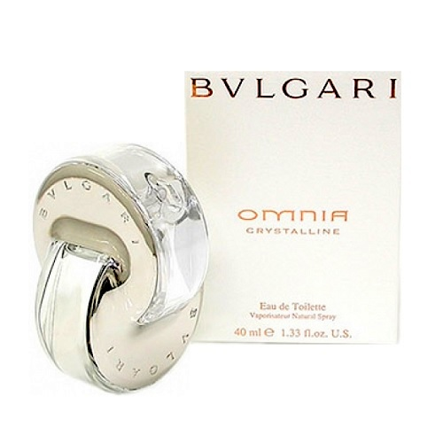 Bvlgari Omnia Crystalline Perfume by Bvlgari 1.35oz Eau De Toilette spray for Women