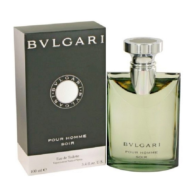 Bvlgari Pour Homme Soir Cologne by Bvlgari 3.4oz Eau De Toilette spray for Men