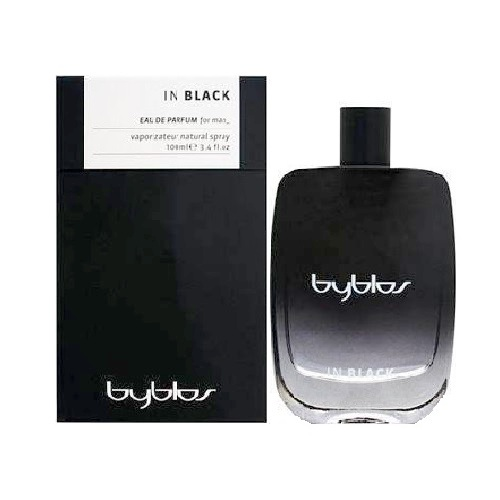 Byblos In Black Cologne by Byblos 3.4oz Eau De Toilette spray for Men