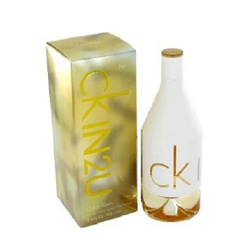 CK IN2U Perfume by Calvin Klein 3.4oz Eau De Toilette spray for Women