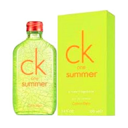 CK one Summer 2012 Perfume by Calvin Klein 3.4oz Eau De Toilette spray (unisex)