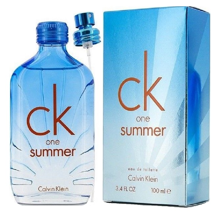 CK one Summer 2017 Perfume by Calvin Klein 3.4oz Eau De Toilette spray (unisex)