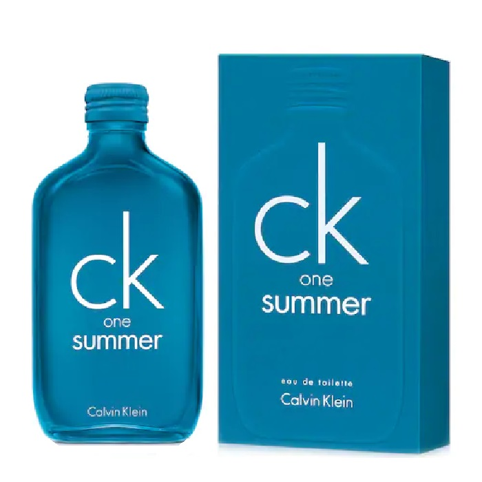 CK one Summer 2018 Perfume by Calvin Klein 3.4oz Eau De Toilette spray (unisex)