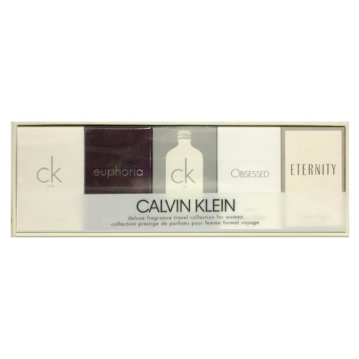Calvin Klein Mini Perfume Gift Set - 5 Minies for Women