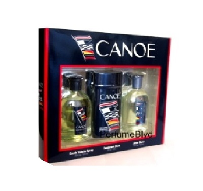Canoe Cologne Gift Set - 4.0oz Eau De Toilette, 4.0 oz After Shave Lotion, & 3.5 oz Deodorant stick