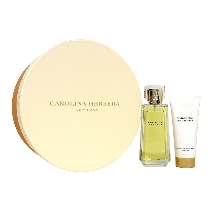 Carolina Herrera Perfume Gift Set - 3.3oz Eau De Parfum Spray & 3.4oz Body Lotion