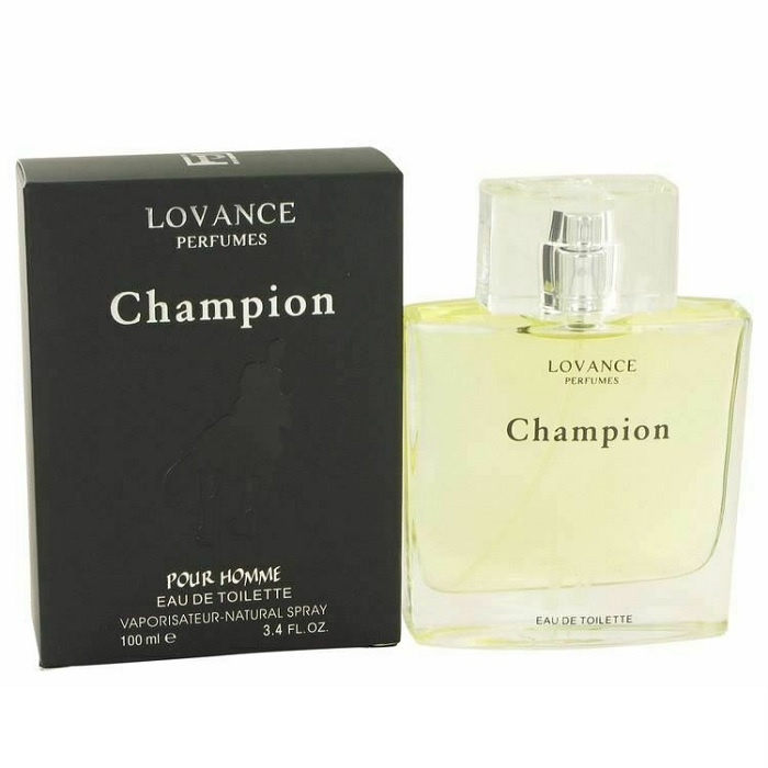 Champion Cologne by Lovance 3.4oz Eau De Toilette Spray for men