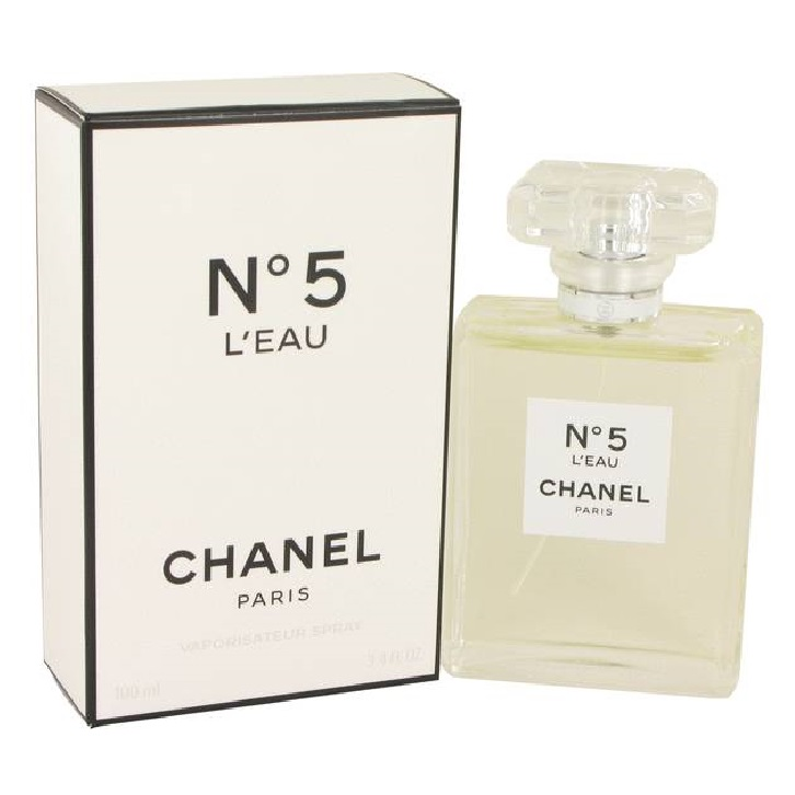 Chanel No. 5 L'eau Perfume by Chanel 3.4oz Eau De Toilette spray for women