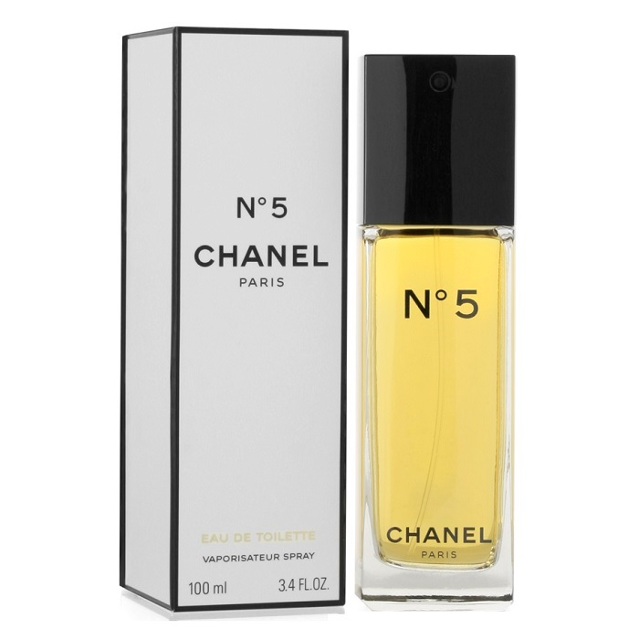Chanel No. 5 Perfume by Chanel 3.4oz Eau De Toilette spray for women