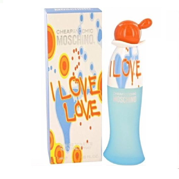 Cheap and Chic I Love Love Perfume by Moschino 1.0oz Eau De Toilette spray for Women
