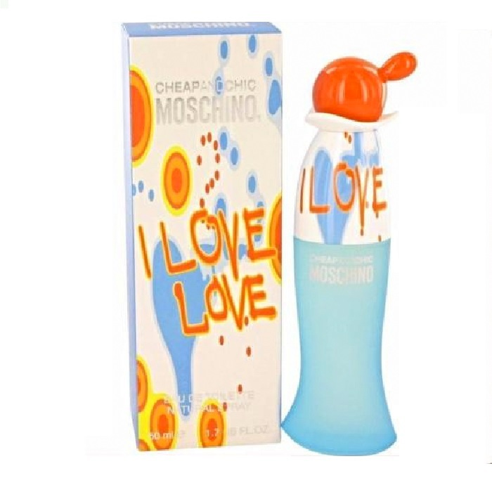 Cheap and Chic I Love Love Perfume by Moschino 1.7oz Eau De Toilette spray for Women