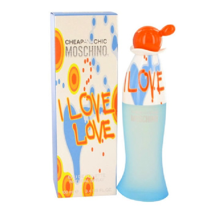 Cheap and Chic I Love Love Perfume by Moschino 3.4oz Eau De Toilette spray for Women