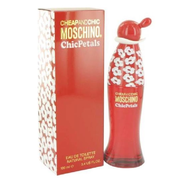 Cheap and Chic Petals Perfume by Moschino 3.4oz Eau De Toilette spray for Women