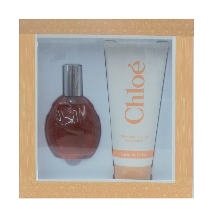 Chloe Perfume Gift Set for women - 3.0oz Eau De Toilette Spray & 6.7oz Body Lotion