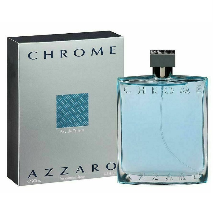 Chrome Cologne by Loris Azzaro 6.7oz Eau De Toilette Spray for men