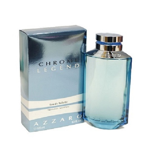 Chrome Legend Cologne by Loris Azzaro 4.2oz Eau De Toilette spray for Men