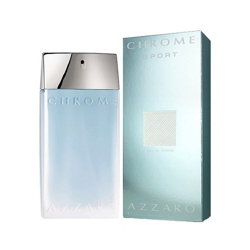 Chrome Sport Cologne by Loris Azzaro 3.4oz Eau De Toilette spray for men