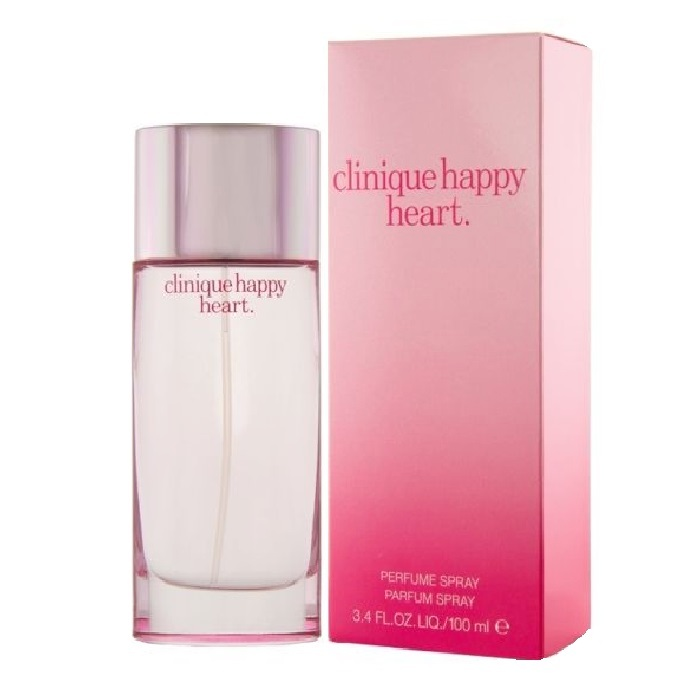 Clinique Happy Heart Perfume by Clinique 3.4oz Parfum spray for women
