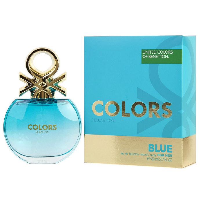 Colors De Beneton Blue Perfume by Beneton 2.7oz Eau De Toilette spray for women