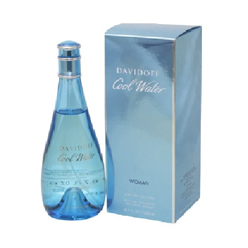 Cool Water Perfume by Davidoff 6.7oz Eau De Toilette spray for Women