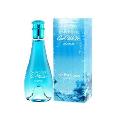 Cool Water Into The Ocean Perfume by Davidoff 3.4oz Eau De Toilette spray for Women