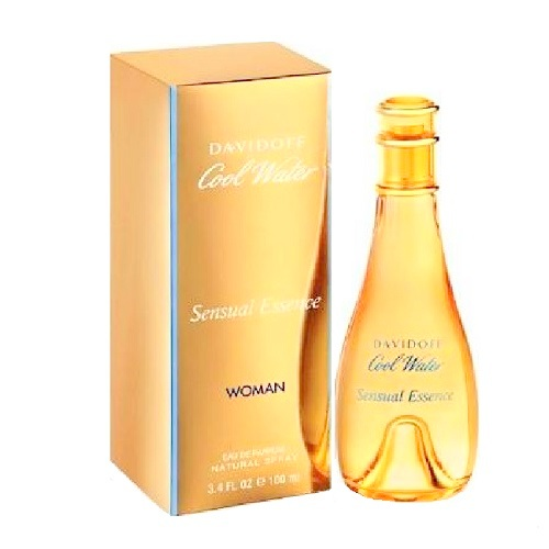 Cool Water Sensual Essence Perfume by Davidoff 3.4oz Eau De Parfum spray for Women
